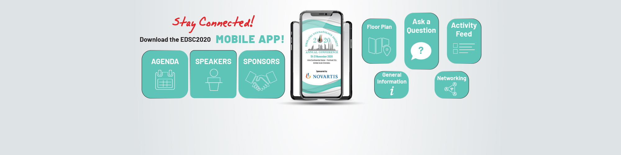 Download the EDSC2020 Mobile App!