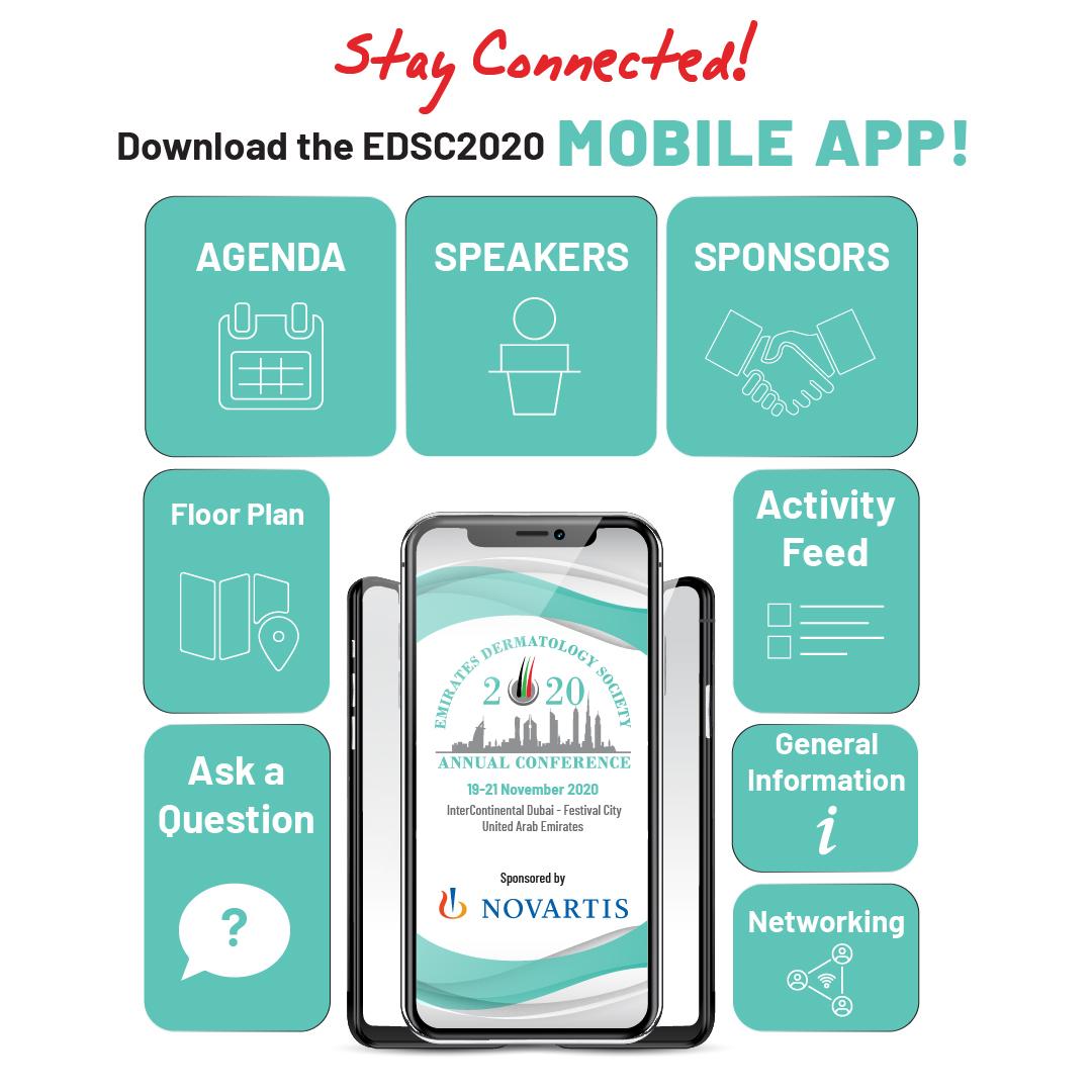 Download the EDSC2020 Mobile App!