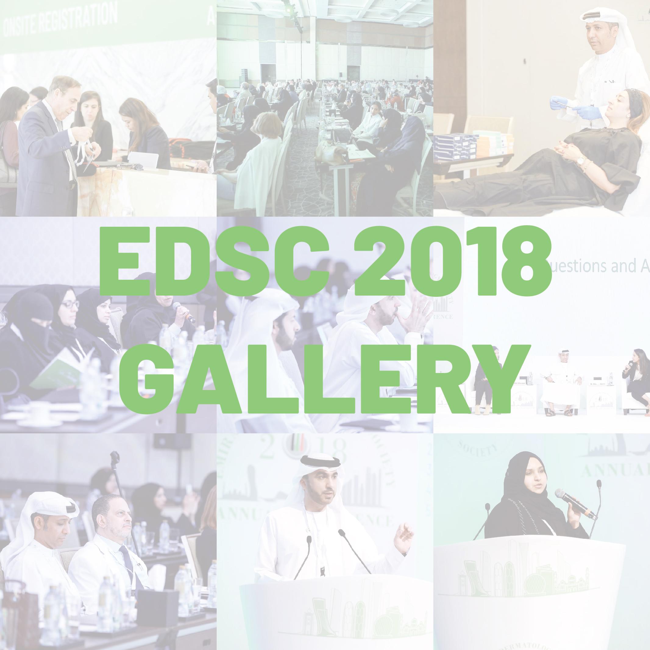 EDSC 2018 GALLERY